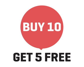 Sale, Buy 10 Get 5 Free, PrintsDigital