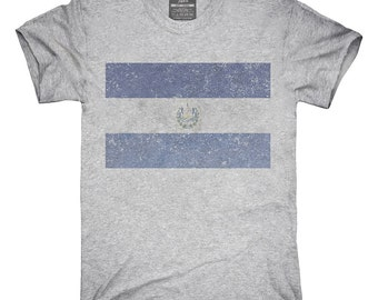 Retro Vintage El Salvador Flag T-Shirt, Hoodie, Tank Top, Gifts