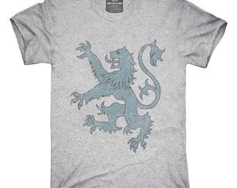 Vintage Scotland Lion Rampant T-Shirt, Hoodie, Tank Top, Gifts