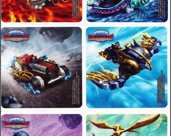 Skylanders Stickers - Birthday Party Favors - Reward Charts - Loot Bags - Scrapbooking - Superchargers - Book Covers - Skylanders Party