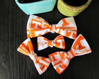 TN vols pet bow tie, tn football pet bow ties, dog bow ties, cat bow ties -- [TN] -- BT3015