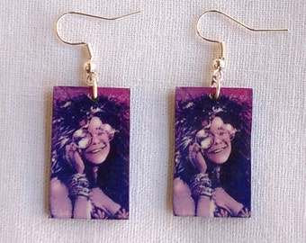 Janis  Joplin Earrings