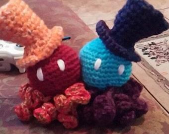 Topsy Turvy Friendship Octopi!