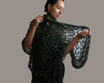 Handknitted shawl#spring#summer#autumn#scarf