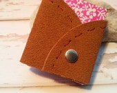 Suede leather mini sketchbook . Miniature Book Keepsake leather . Colored mini sketchbook . leather book Miniature Leather Bound Book .
