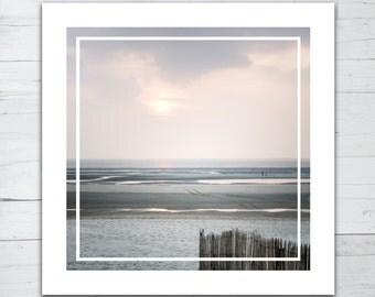 Photo print - Sunset on the beach