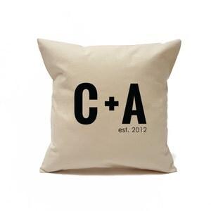etsy personalized wedding decor pillow sale