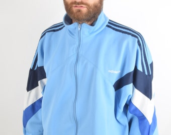 Vintage Adidas Jacket/Track top Size L 90'S (1535)