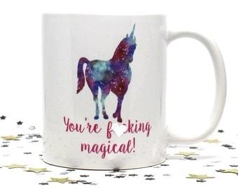 Coffee Mug, Unicorn, Unicorn Mug, Funny Coffee Mug, Birthday Gift, Gift for Her, Gift for Him, Mothers Day Gift, Unicorn Coffee Mug, Unicorn