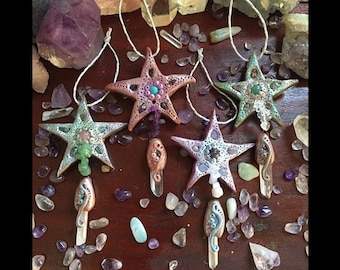 Crystal Stars, Alter Space, Christmas Decorations, Crystals