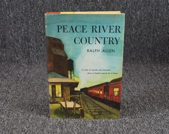 Peace River Country By River Allen C.1958