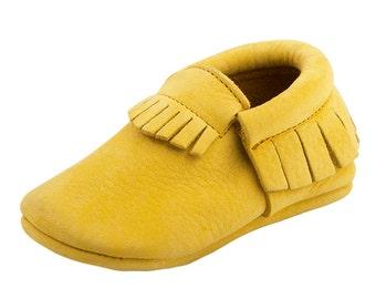 Moots Yellow Nubuck Classic