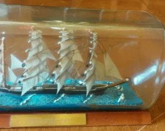 Passat ship in bottle