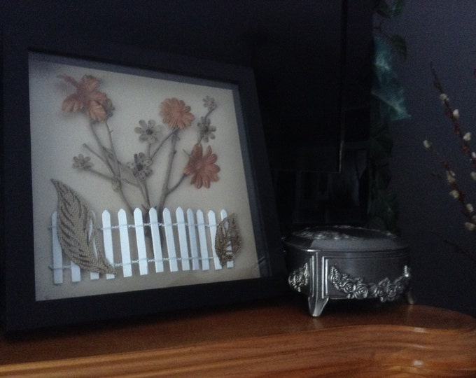 Shadowbox Picket Fence