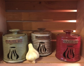 Garlic Keeper/ Garlic Jar