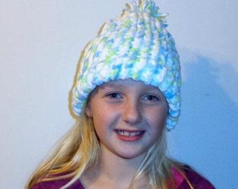 Soft Pastel Winter Hat