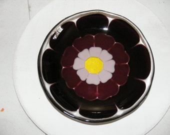 Fused flower bowl