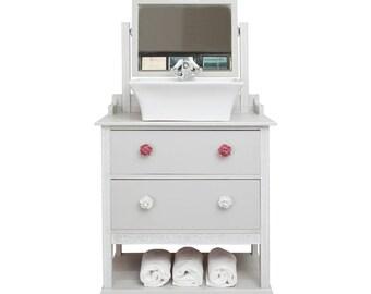 Art Deco Style Bathroom Vanity Unit