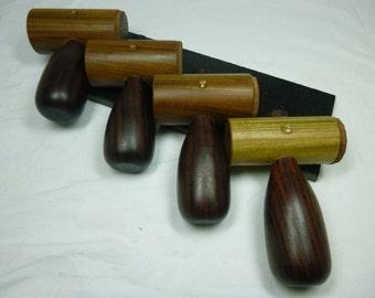 Lignum Vitae Head and Rosewood Handle Chisel Mallet, Plane Adjustment Hammer, Woodworking, Luthier Tool