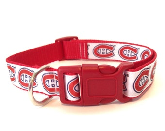 Adjustable Dog Collar - Montreal Canadiens