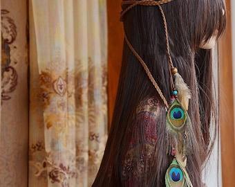 AK 001 Bohemian Hippie headband