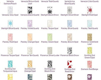25 Pack of Pattern Blank Cards 2 1/2 x 3 1/2