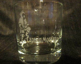 Captain Morgan Rock Glass