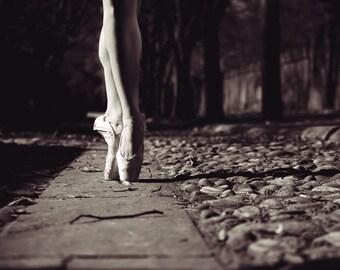 Dansart: The Path Ballerina Black and White Photography Ballet Philadelphia
