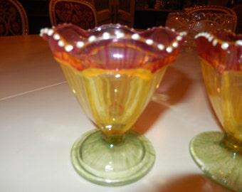 SHERBET or PARFAIT GLASSES