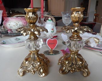 ORNATE CANDLE HOLDERS