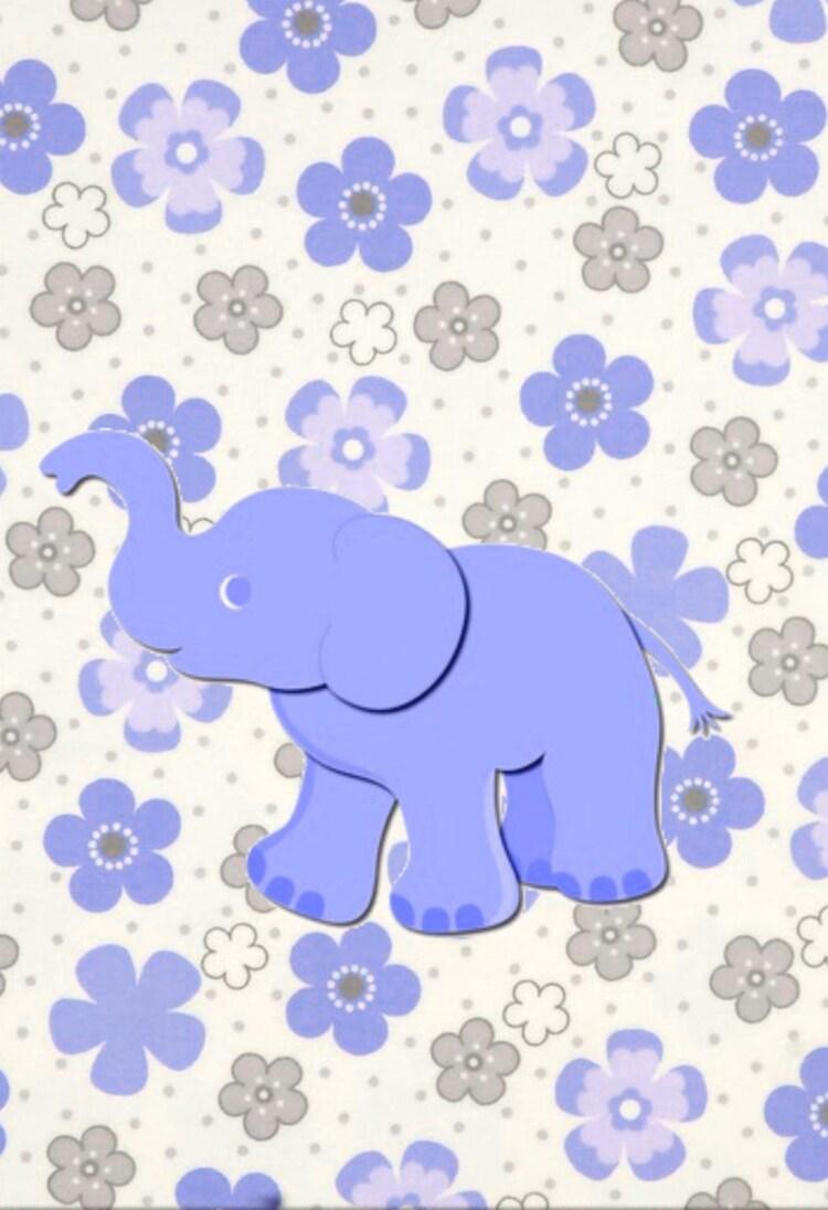 elephant nursery art purple gray grey nursery by jerrytitanart. Black Bedroom Furniture Sets. Home Design Ideas