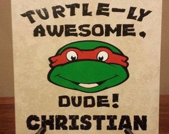 Ninja Turtle Personalized TIle