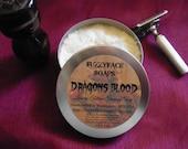 DRAGONS BLOOD Luxury Tallow & Shea Butter Shaving Soap