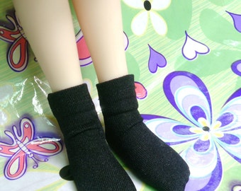 Black socks for 1/8 1/6 1/4 1/3 BJD dolls