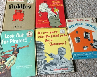 Vintage I can read all by myself book set of 6