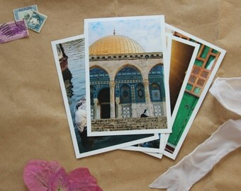Holy Land/ Tierra Santa Collection of 6 Curated Photos