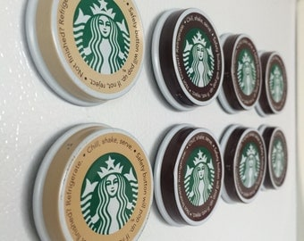 Starbucks Magnets for the Coffee Addict- Set of Two