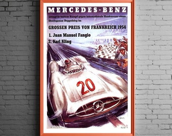 Mercedes Benz 1954 Fangio / Kling