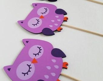 3 Owl Centerpiece