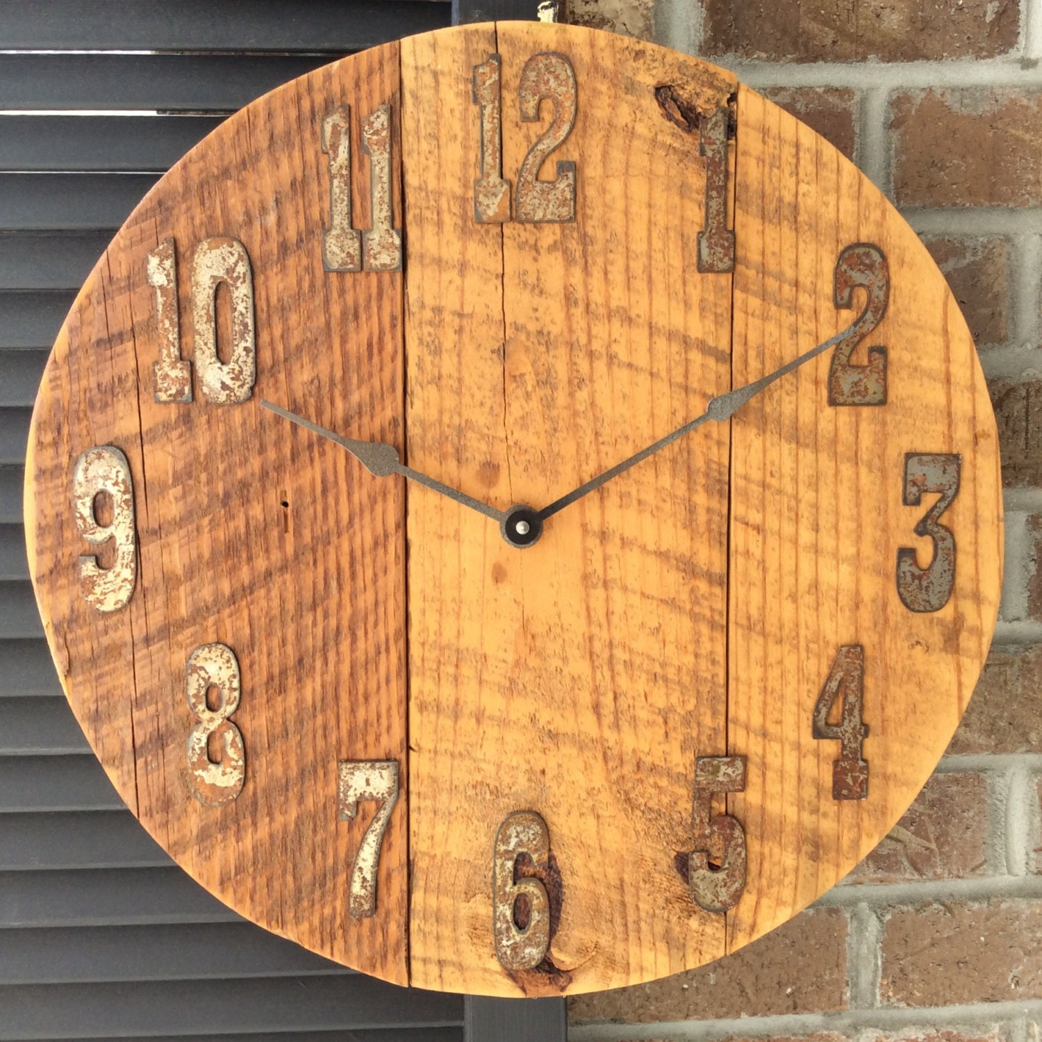Large Wall Clocks Rustic Wall Clocks Large Wall Clock Wood