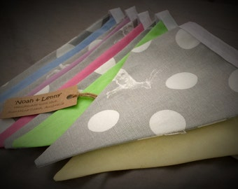 Bunting Flags - Deer, Dot & Colour     F1004