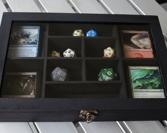 Glass top MAGIC Deck Box