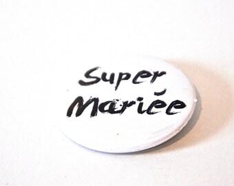 Super custom badge married
