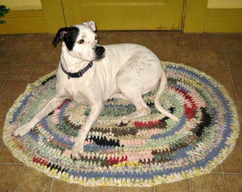 Crochet Rag Rug Made to order