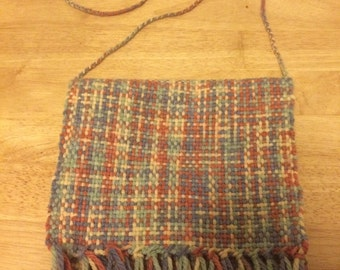Handwoven iPad Mini carry case.