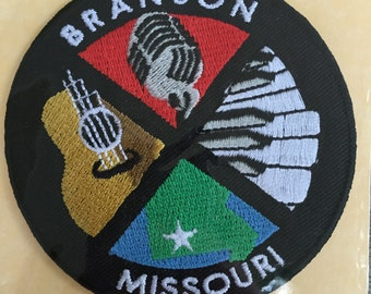 Branson Missouri Vintage Souvenir Travel Patch