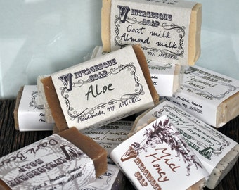 Three soaps of your choice for your pleasure !