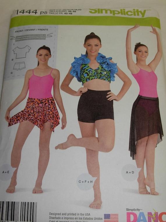 Simplicity Knit Dancewear Dance - 86.1KB