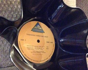 Tchaikovsky Romeo and Juliet vinyl record bowl