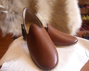 Medieval Period  Ottamon-Turkish Custom Made Handmade  Leather Unisex Adult Shoes Sandals